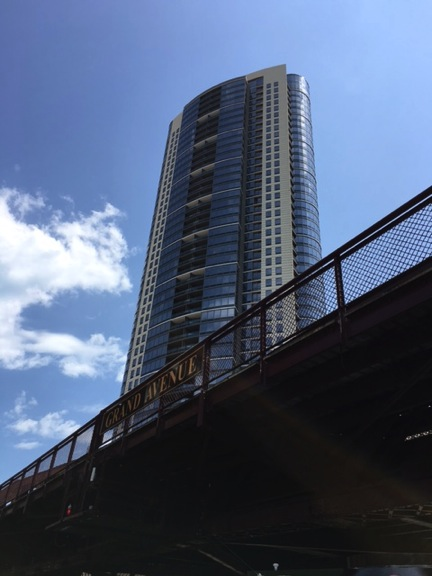 Chicago building Grand Avenue
