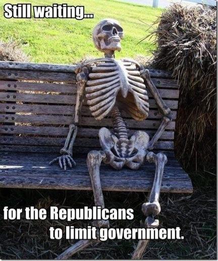 Skeleton Republican