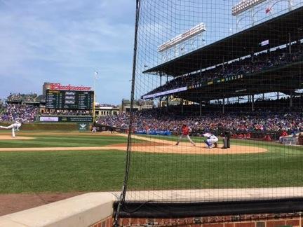 Chicago ball park hitter